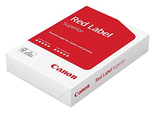Canon Deutschland Red Label Superior Geschäftspapier, 500 Blatt FSC zertifiziert, A4, 80g/m², alle Drucker hochweiß CIE 168 (optimierte Schutzverpackung)