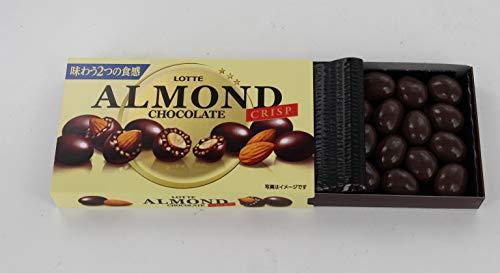ロッテアーモンドチョコレート<クリスプ>89g×10箱