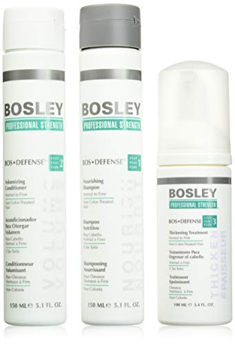 Bosley Professional Strength BOSDefense Starter Pack For Non Color-Treated Hair