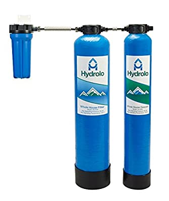 Hydrolo 3-Year 330,000 Gallon Whole House Water Filter & Descaler Combo