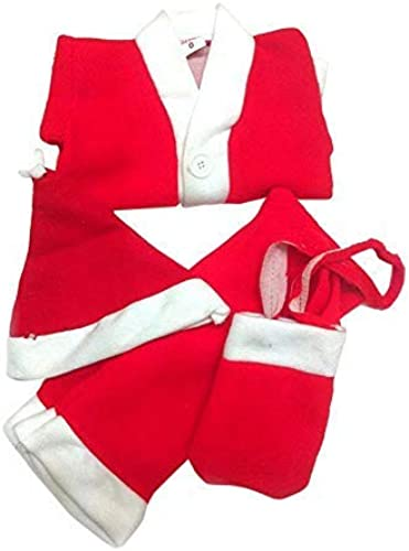 Santa Clause Fancy Dresses Christmas Day Costume Red White