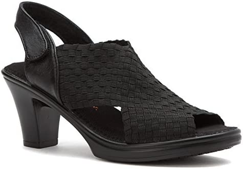Bernie Mev Beatrice Womens Block High Heel Sandal Ladies Ankle Strap Party Shoes