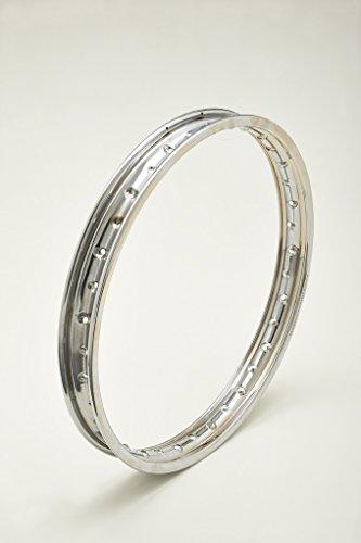 Llanta de acero cromado cromado cromado Steel Wheel Rim ItalLlanta 1,60 x 21 36 agujeros