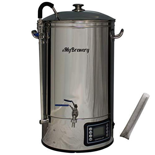 Máquina compacta para elaborar cerveza artesana | 30 litros | Memoriza hasta 10 recetas | 9 escalones de temperatura programable