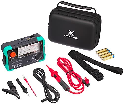 共立電気計器 (KYORITSU) キューメグ 3レンジ絶縁抵抗計 (125V/250V/500V) model.3432