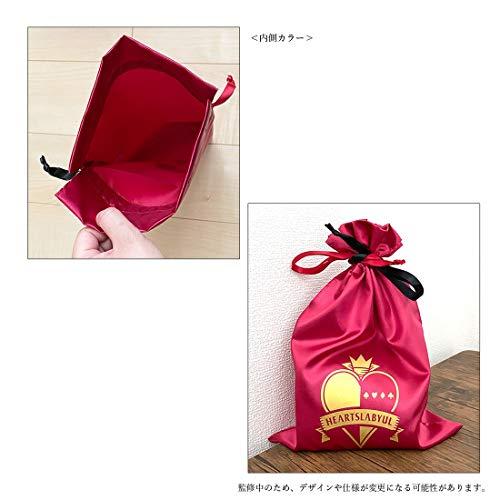 【予約販売】ツイステッドワンダーランド サテン巾着 ハーツラビュル APDS5494_1