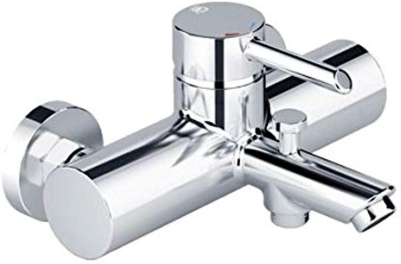 Wannen Brause Einhebelmischer Wassersparfunktion, Temperaturbegrenzer, Luftsprudler, Rückflussverhin