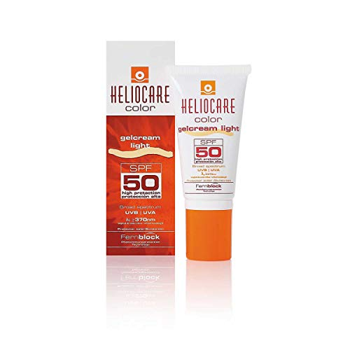 Heliocare Color Gelcream Protector solar SPF 50, 50 ml - Light