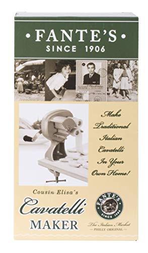 Fantes Cavatelli Maker Machine for Authentic Italian Pasta, The Italian Market Original since 1906