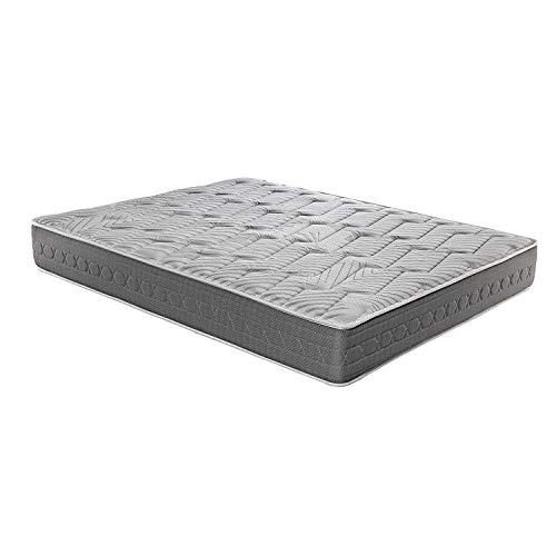 ROYAL SLEEP Colchones viscoelásticos Carbono firmeza Alta, Gama Alta, Efecto regenerador, Varias Medidas, Altura 25cm. Colchones Ceramic Plus (135x190, Colchón)