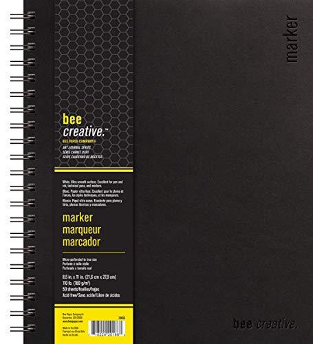 Bee Paper Company BEE-20005 Creative Marker Book, 8-1/2' x 11'