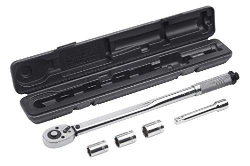 Meister, Set chiave dinamometrica 5 pz, 12,7mm...