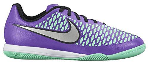 Nike Jr Magista Onda IC Fitnessschuhe, Orange/Violett (Hypr GRP Mtllc Slvr Prpl Dynst), 38 EU