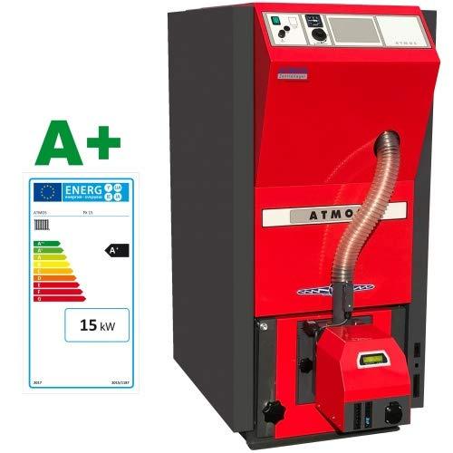 ATMOS Pelletkessel Typ PX10-25 kW kompakte Kesselserie Pelletheizung Pellets Auswahl-PX PX15
