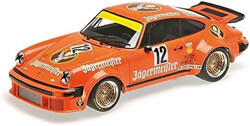 Minichamps 155766412  ab 1 18, Porsche 934 germeister Team Max-Moritz, DRM Eifürennen 1976, Druckguss Modell