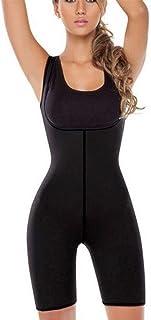 ملابس داخلية للنساء، ملابس داخلية نسائية مشدودة على الجسم بالكامل مصنوعة من النيوبرين بدلة الساونا تحت الصدر بدلة للساق ال...