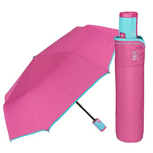 Paraguas Plegable Mujer - Mini Paraguas Compacto Antiviento y Ligero - Resistente...