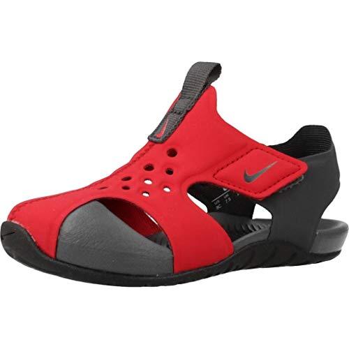 Nike Baby Jungen Sunray Protect 2 Wanderschuh, Rojo Universitario/Antracita/Negro, 26 EU