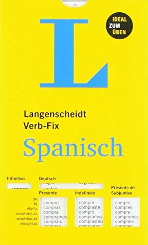 Langenscheidt Verb-Fix Spanisch - Spanische Verben auf einen Blick - Ideal zum Üben (Langenscheidt Verb-Fixe)