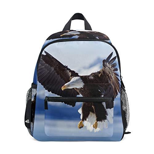 LIANCHENYI Flying Eagle - Mochila escolar unisex para niños y niñas