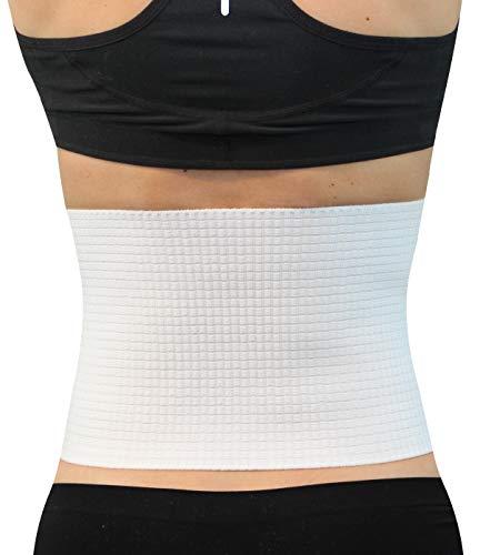 Hydas Rückenstützbandage Standard, Gürtel für einen gesunden Rücken und korrekte Haltung, Bandage bei leichten Rückenschmerzen (Einfache Stützkraft)