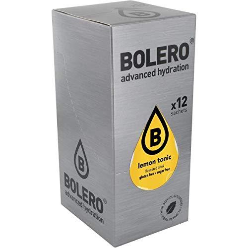 Bolero Bebida Hidratante sin Azucar con Sabores Variados - 12 Sabores