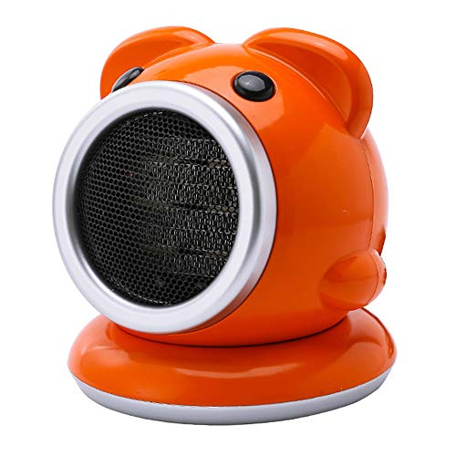 ZXlife Mini-radiator, keramische radiator, kleine desktop-radiator, snelle opwarming in 3 seconden, voor kantoor, huis, slaapkamer, badkamer, kantoor, slaapkamer.