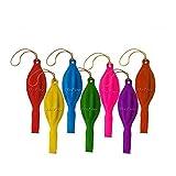 EPRHY Globos de neón con asas de goma divertidos juguetes de neón grandes divertidos (45,7 cm, 30 unidades)