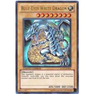 Yu-Gi-Oh Card - LC01-EN004 - BLUE-EYES WHITE DRAGON  ultra rare holo  [Toy] by Yu Gi Oh