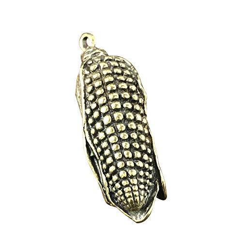 Glover Latón Vintage Moda Colgante Hecho a Mano maíz maíz latón Colgante Adornos pequeños Regalos