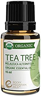 Rocky Mountain Oils - Organic Tea Tree - 15 ml - 100% Pure and Natural Essential Oil