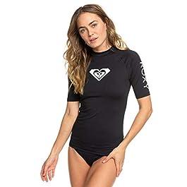 Roxy Whole Hearted-Rash Vest UPF 50 A Maniche Corte da Donna