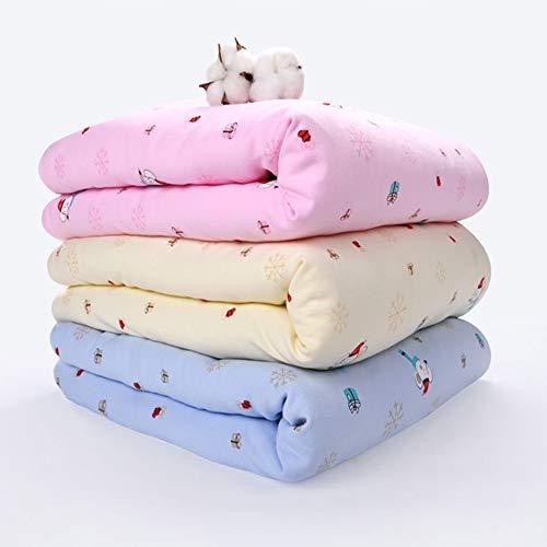ZEYUE Herbst/Winter/Baby/Warm/Plus Samt/Quilt/Swaddling Kleidung/Schlafsack/Babywagen/Kinderbett / 0-1 (Blau)