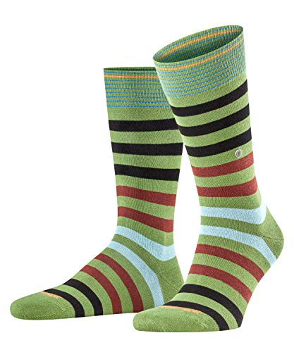Burlington Herren Blackpool Socken, grün (pesto 7165), 40-46