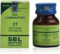 BI0 C0MBINATI0N_BC 21 S.B.L_Pharma Tablets (25 Grams) | Pack of 2 Bottles | ShopHomeo®