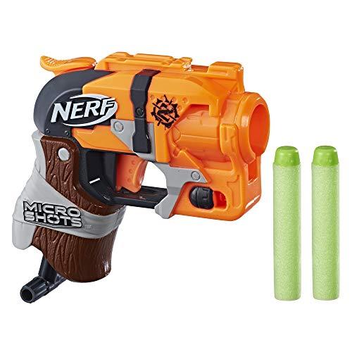 Nerf Microshots Hammershot Blaster and Combats