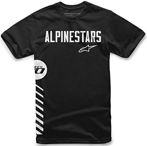 Alpinestars T-Shirt Wordly Schwarz Gr. M