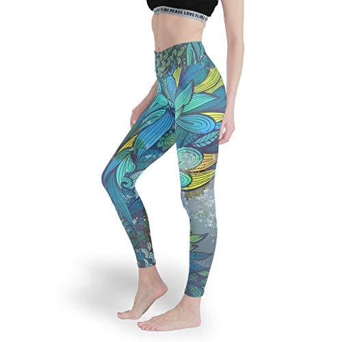Mädchen Sehr empfehlenswert Leggings Weich Gedruckt Yoga Hosen Dünn Capris Tights für Radfahren White xs