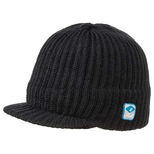 Jack Styler Mütze Chillouts Strickcap Wintermütze Wintercap Strickmütze Strickmütze Wintercap (One Size - schwarz)