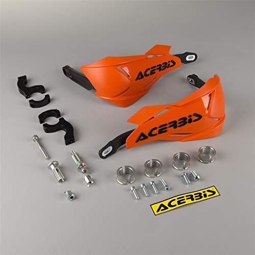 Acerbis 0022397.209 Handschutz X-Factory, orange/schwarz