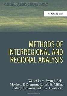 Methods of Interregional and Regional Analysis