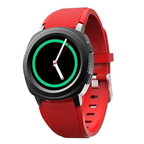 WENTAO Fitness Tracker Hr,Smart Horloge Unisex Waterdichte Siliconen band/Stappenteller/Hartslag 10 Soorten Sport Patronen Duurzaam voor iOS en Android Student Gift 1 Stks