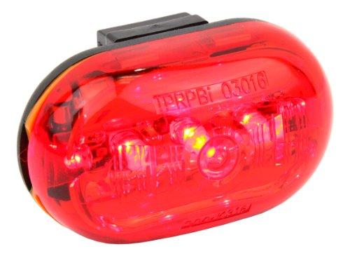 Ultrasport LED Fahrradlicht, Mini-Rücklicht zum Anbringen an Rucksack oder Sattelstütze, rote Rückleuchte, Fahrradbeleuchtung inkl. Halterung, batteriebetrieben (nicht inkl.)