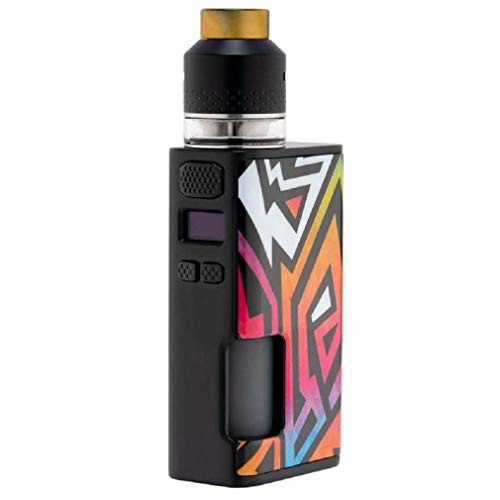 Wismec Luxotic Surface Box Mod 80W mit Squonk Flasche 6,5ml OLED Display + Kestrel RDTA Zerstäuber 24mm Linear
