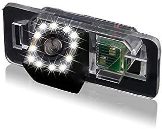kalakus Color Vista Posterior de la C/ámara de Visi/ón Trasera con L/íneas de Cuadr/ícula como Luz de la Matr/ícula Ayuda Sensor de Aparcamiento para X Series 1 Series 3 Series 5 Series E90 E91 E92 320i