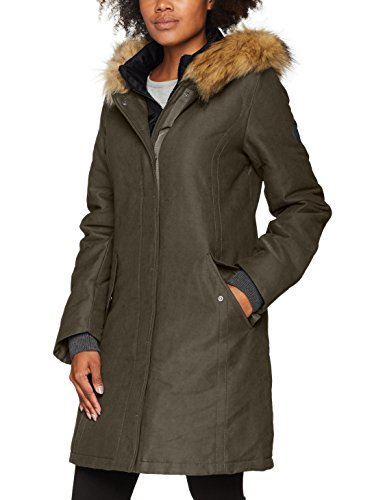 Marc O'Polo Damen 708047871023 Jacke, Grün (Dusty Pine 488), 40