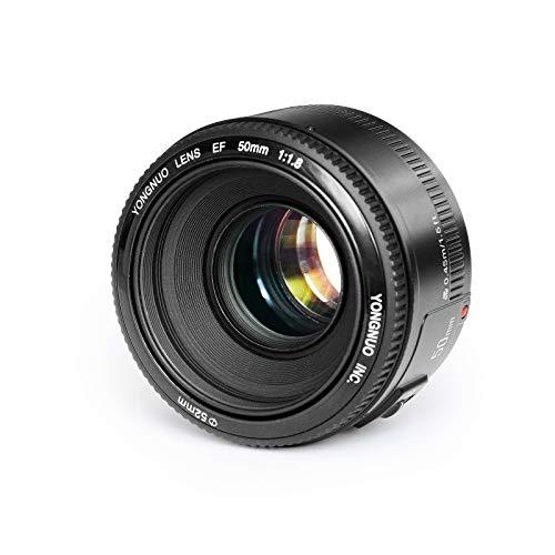 YONGNUO YN50mmF1.8 Grande Apertura Messa a Fuoco Automatica AF/MF Full Frame lente compatibile con Canon EF Mount EOS