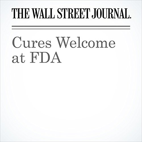 Cures Welcome at FDA copertina