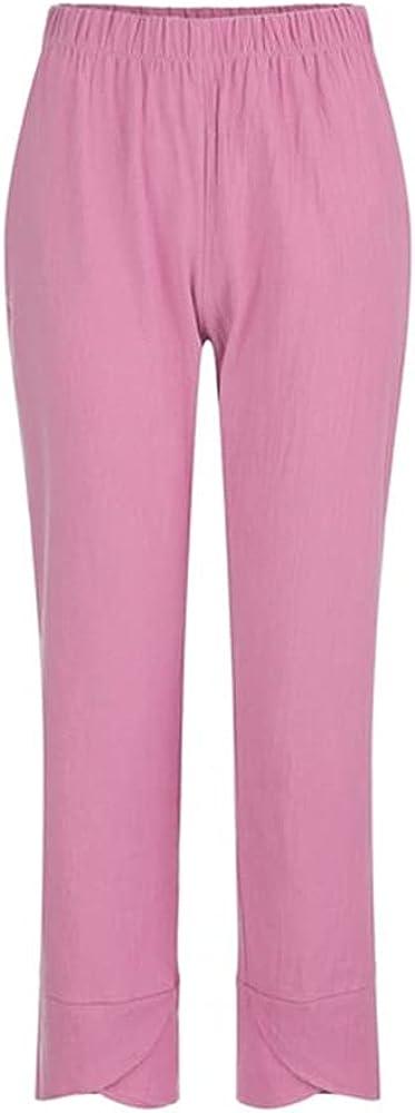 NP Women Pants Casual Waist Summer Loose Pants