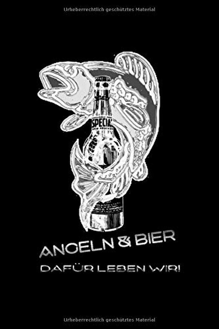 熟す吸収する冬Angeln und Bier dafuer leben wir!: lustiges Fangbuch